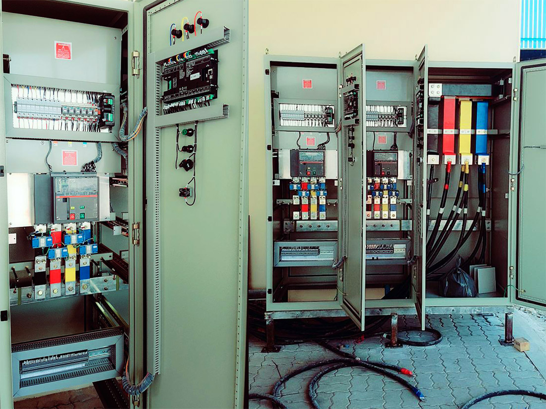 2 x 650kVA + Synchronization Panel 1